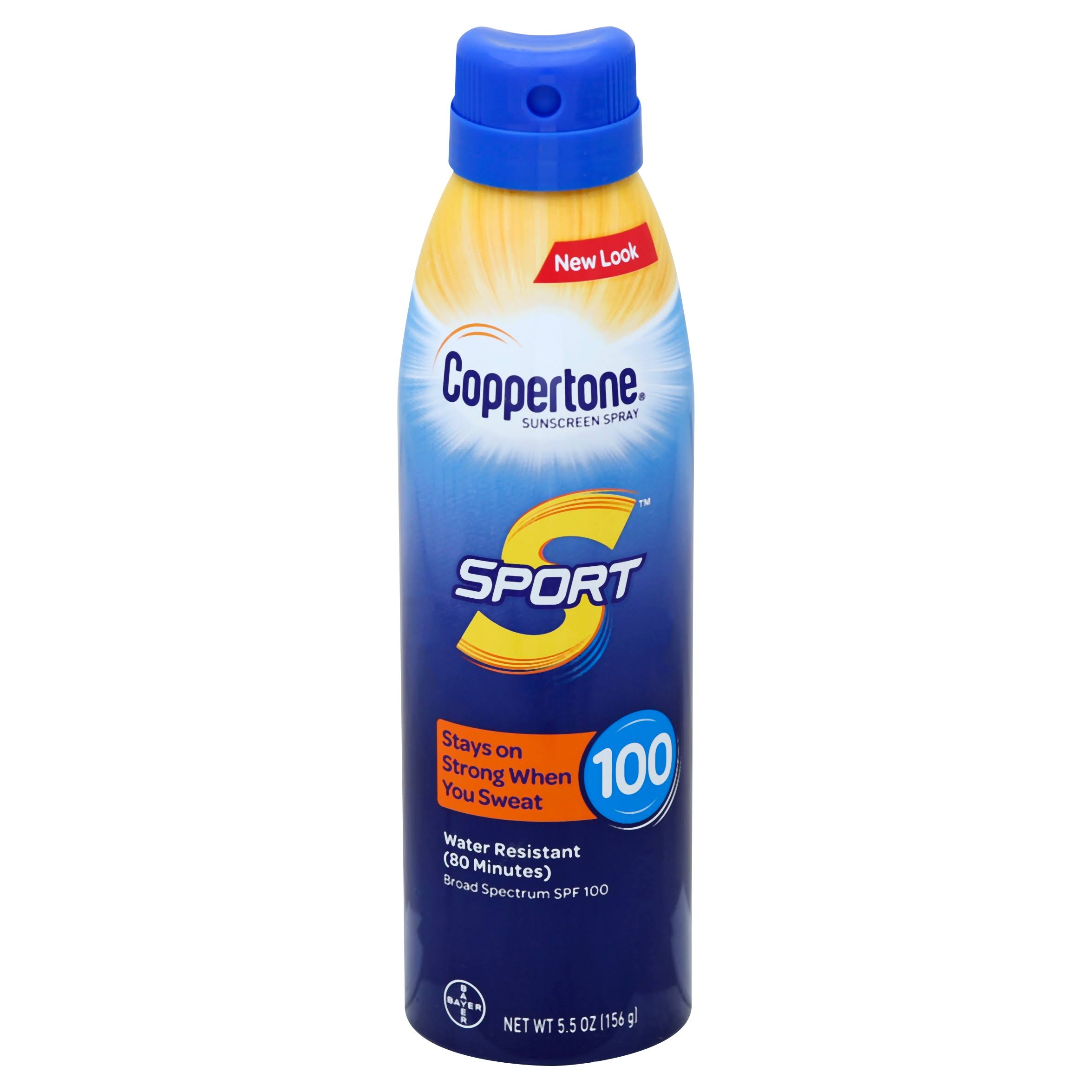 Coppertone Sport Sunscreen Continuous Spray - SPF 100, 5.5oz