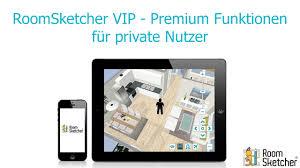 RoomSketcher VIP Premium Funktionen für private Nutzer