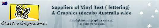 Custom Vinyl Lettering Australia Sign Letters Window Letters