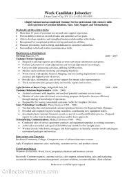 Resume: Good Customer Service Skills Resume Excellent ...