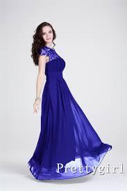 plus size royal blue chiffon dress clothing for large ladies