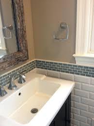 bathroom bathroom mosaic tile backsplash mini glass subway