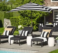 Decorative Outdoor Lumbar Pillows by Sunbrella R Awning Stripe Indoor Outdoor Lumbar Pillow 16 X 24