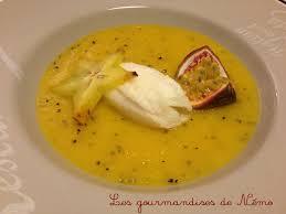 soupe de mangue sorbet citron les gourmandises de némo