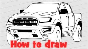 How To Draw A Pickup Ford Ranger Raptor 2018 | Drawing | Pinterest ... How To Draw 1 Truck Youtube The Best Trucks Of 2018 Pictures Specs And More Digital Trends To A Toyota Hilux Pick Up Pickup Vinyl Graphics Casual For Old Chevy Drawing Tutorial Step By A 52000 Plugin Electric Pickup Truck W Range Extender Receives Ford Stock Illustration Illustration Draw 111455442 By Rhdragoartcom Easy 28 Collection High Quality Free What Ever Happened The Affordable Feature Car Cool Drawings Of An F150 Sstep