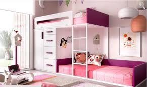 chambre avec lit superposé lit superposé lit superposé 3 places secret de chambre