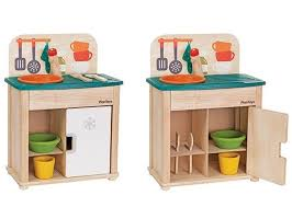 PlanToys Debuts Their Redesigned Play Kitchen & Play Sink & Fridge