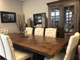 American Attitude Rect Pedestal Extention Dining
