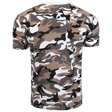 new mens boys military camouflage camo t shirt summer top tee army