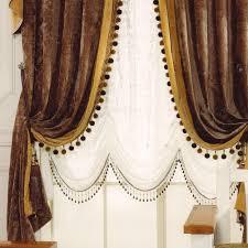 traditionell viktorianisch jahrgang chenille braun gold