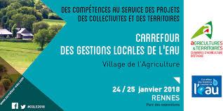 chambre d agriculture de rennes 24 25 janvier 2018 de l agriculture au carrefour des