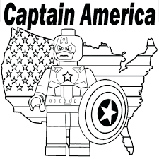 Lego Marvel Superheroes Coloring Pages 3