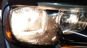 2014 dodge charger testing headlights after changing bulbs low