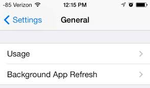 How to Display Battery Life as a Percentage in iOS 7 on the iPhone