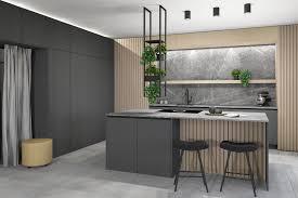 küche in grau eigenstil lili zemsauer