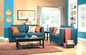 Orange Grey And Turquoise Living Room by Burnt Orange And Turquoise Pinteres Lively Blue Living Room