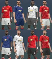 Download PES2017 Manchester United 2016 2017 Kits By IDK