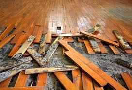Hardwood Floor Buckled Water by How To Repair A Water Damaged Wood Floor Woodfloordoctor Com