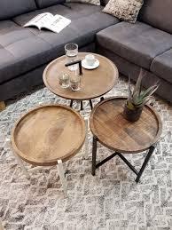 voglrieder couchtisch wohnzimmer tisch beistelltisch metallgestell rund oder eckig verschiedene modelle