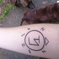 Simple Supernatural Sigil Tattoo