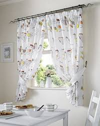 White Kitchen Curtains With Sunflowers by Kitchen Exquisite Kitchen Curtains Sunflower Set Kitchen
