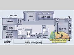 Montana Fifth Wheel Floor Plans 2006 by Floor Plan For 2013 Kz Stoneridge 39bh 5th Wheel Camper Dream