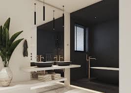 die schönsten kombinationen in einem badezimmer in bronze