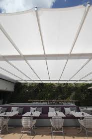 Miami Beach Hotspot Juvia Relies On SEFAR® Architecture TENARA ... Solar Canopies Awning Systems Retractable Screen Porch Memphis Kits Benefits Of The Shadow Power Tra Snow Sun Alinum Deck Drainage Awnings Gallery Sunrooms Installation Service A Custom Retractable Roof System Intsalled By Melbourne Pin Issey Shade On Pinterest Miami Atlantic Franciashades Franciashades Twitter Pergola Tension Shadepro North Americas Roll Ideal And Blinds Doors By Deans