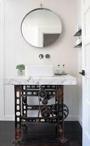 Bathroom Vanity Industrial Style Via Homeportfolio