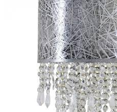 hängeleuchte design pendelleuchte silber kristallo