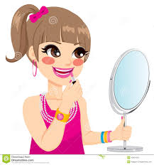 Makeup clipart hair 10
