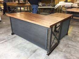 fice Desk Butcher Block Countertop Home Depot Counter Height