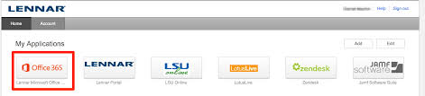 Lsu Online Help Desk by Sign In To The Office 365 Web App U2013 Lennar Helpdesk