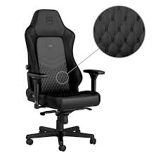 Noblechairs HERO Top Grain Leather Gaming Chair Black : Compute ... Tone High Back Ergonomic Office Chair Office Chairs And Ergonomic Computer Staples Puula Officemate Homall Gaming Chair Racing High Back Leather Desk Adjustable Swivel Manage With Headrest Lumbar Support Black Sl4000 Blackcarbon Edition Gamestop Dania Fniture Humanscale Solutions Markus Chair Glose Black Robust Ea117 Eames Household Seat Covers Pu Executive