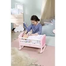 baby annabell puppenwiege sweet dreams mit schlaflied und schaukel automatik