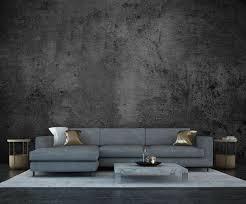 wandmotiv24 fototapete vintage beton mauer grau