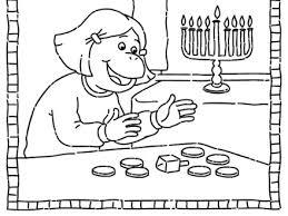 Hanukkah Coloring Printable Pages Cooloringcom