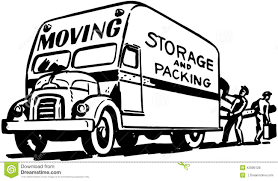100 Packing A Moving Truck Storage Nd Stock Vector Illustration Of
