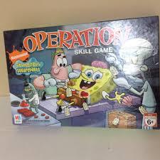 SPONGEBOB SQUAREPANTS OPERATION SKILL GAME