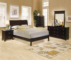 Dark Master Bedroom Furniture Interior Design Ideas With Wooden