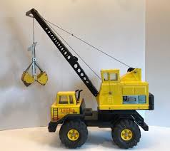 100 Tonka Crane Truck Vintage TONKA Mighty Turbo Diesel Press Steel 1980s EBay