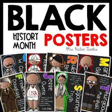 Black History Month Posters These Will Look Great In Teacher Rooms