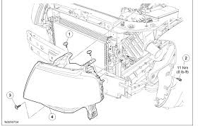 i need the procedure to replace passenger headl assembly for a