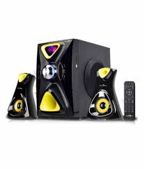 Buy Jack Martin JM X5 2.1 Multimedia Speakers - Black Online At Best ...