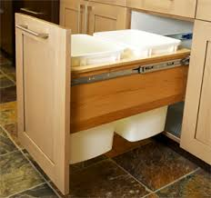 Under Cabinet Trash Can Pull Out by Pull Out Trash Cabinet Cabinets Design