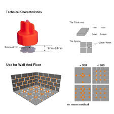 Floor Tile Leveling Spacers by 50cover 100xclip Tile Leveling System Spacers Tiling Tools Device