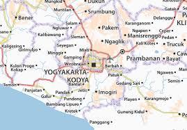 Map Of Yogyakarta Kodya Detailed