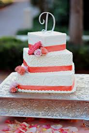 Coral Color Decorations For Wedding by Best 10 Summer Wedding Cakes Ideas On Pinterest Cheap Wedding