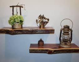 Rustic Shelves Etsy