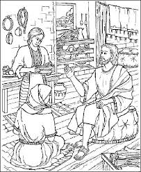 Mary And Martha Coloring Pages Wallpaper